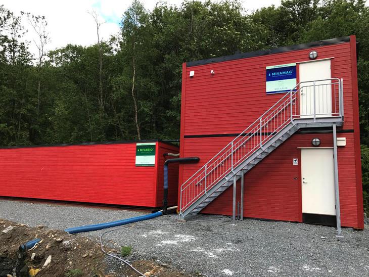 The treatment solution delivered at Salten Smolt