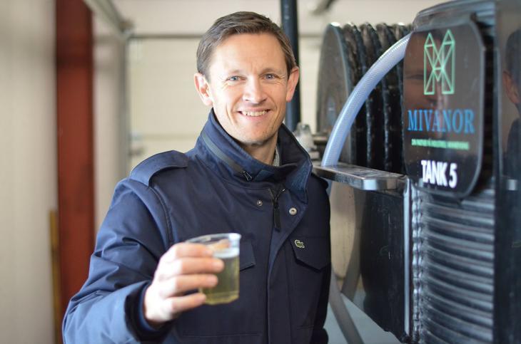 Fredrik Korpe. daglig leder i Mivanor