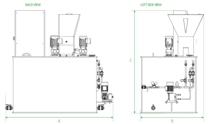 Tekniske tegninger CSL